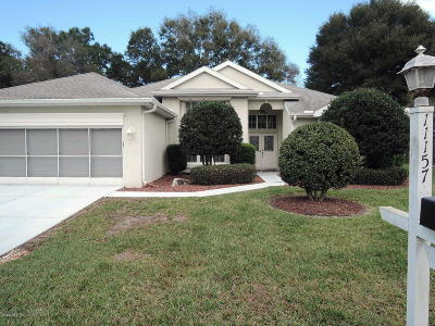 Ocala Single Family Home For Sale: 11157 SW 71st Court
