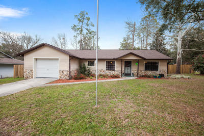 Ocala Single Family Home For Sale: 3425 NE 44th Place