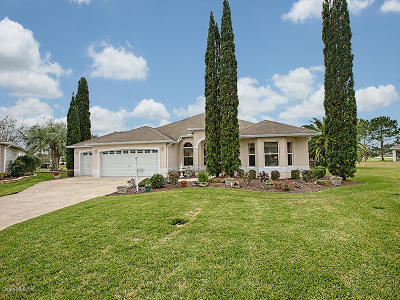The Villages Single Family Home For Sale: 17976 SE Melrose Court