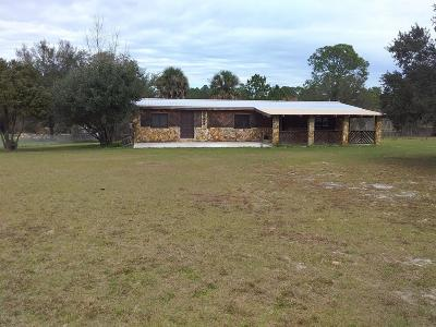 Dunnellon Single Family Home For Sale: 9130 N Cedar Cove Road