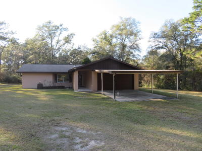 Dunnellon Single Family Home For Sale: 6250 SW 201st Avenue