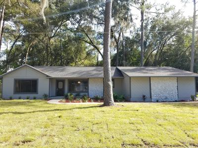 Ocala Single Family Home For Sale: 3275 SE 11th Terrace