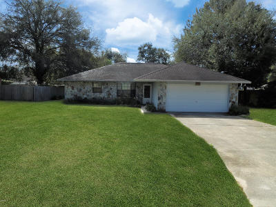 Ocala Single Family Home For Sale: 4450 SE 61st Street