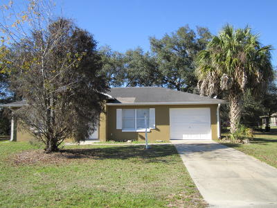 Marion Oaks North, Marion Oaks Rnc, Marion Oaks South Single Family Home For Sale: 13520 SW 40th Circle