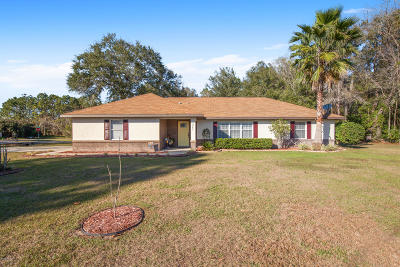 Ocala Single Family Home For Sale: 5661 Pecan Road