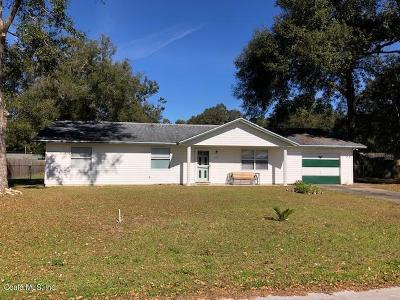 Ocala Single Family Home For Sale: 2301 NE 44 Street