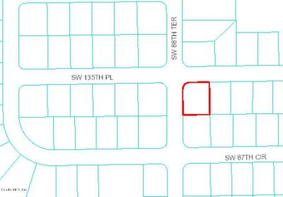 Ocala Residential Lots & Land For Sale: SW 135th Place