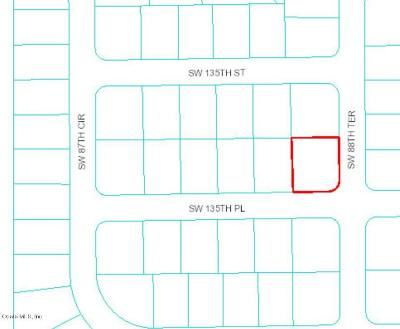 Marion Oaks North, Marion Oaks Rnc, Marion Oaks South Residential Lots & Land For Sale: SW 135th Place