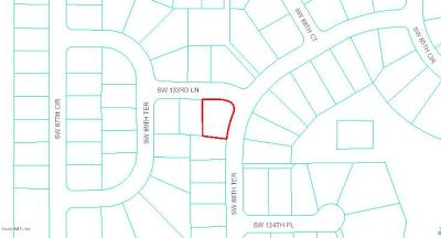Marion Oaks North, Marion Oaks Rnc, Marion Oaks South Residential Lots & Land For Sale: SW 133rd Lane