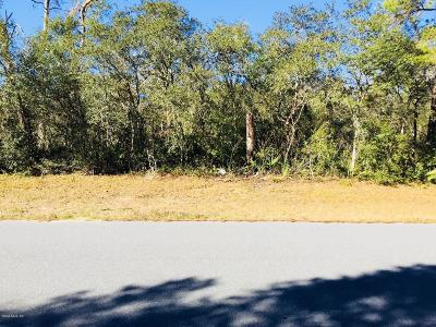 Marion Oaks North, Marion Oaks Rnc, Marion Oaks South Residential Lots & Land For Sale: SW 29 Terr Road