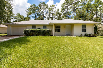 Ocala FL Single Family Home For Sale: $128,900
