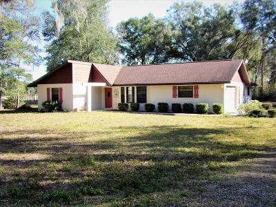 Dunnellon Single Family Home For Sale: 9880 SW 201 Court