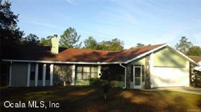 Ocala Single Family Home For Sale: 15254 SW 28th Avenue Road