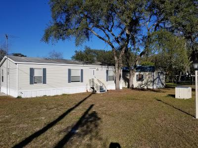 Silver Springs Mobile/Manufactured For Sale: 18501 SE 20th Place