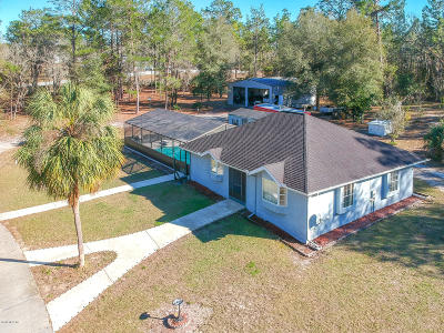 Ocala Single Family Home For Sale: 12330 SW 43 St Road