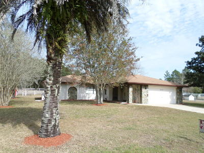 Dunnellon Single Family Home For Sale: 22937 SW Marine Boulevard
