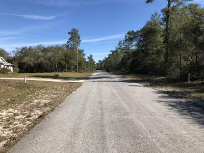 Marion Oaks North, Marion Oaks Rnc, Marion Oaks South Residential Lots & Land For Sale: 32nd Circle