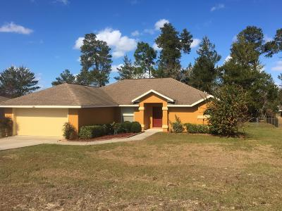 Citrus County, Levy County, Marion County Rental For Rent: 4941 SW 109th Loop