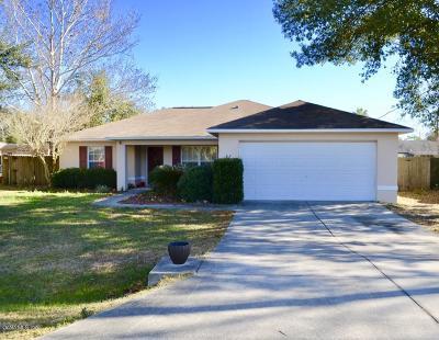 Ocala Single Family Home For Sale: 87 Teak Run