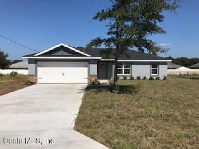 Ocala FL Single Family Home For Sale: $167,900