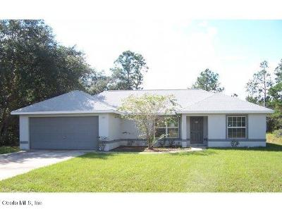 Ocklawaha FL Single Family Home For Sale: $134,900