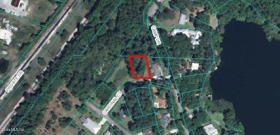 Dunnellon FL Residential Lots & Land For Sale: $17,000
