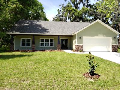 Williston FL Single Family Home For Sale: $249,900