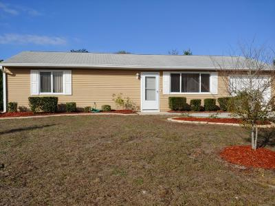 Ocala Single Family Home For Sale: 10882 SW 87th Terrace