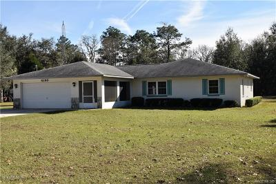 Levy County Single Family Home For Sale: 8290 SE 143rd Street