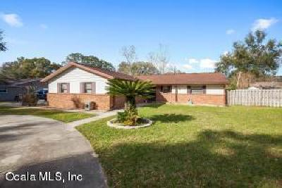Ocala Single Family Home For Sale: 4433 SE 13th Street