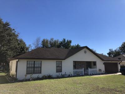 Ocala Single Family Home For Sale: 3363 NW 44th Terrace
