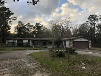 Marion County Single Family Home For Sale: 1670 N Hwy 314 A