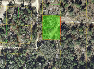 Williston FL Residential Lots & Land For Sale: $3,900