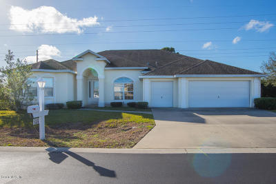 Ocala Palms Single Family Home For Sale: 2438 NW 59th Terrace
