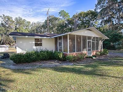 Ocklawaha Single Family Home Pending: 13291 SE 122nd Place