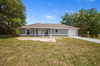 Ocala Single Family Home For Sale: 248 Locust Pass Loop