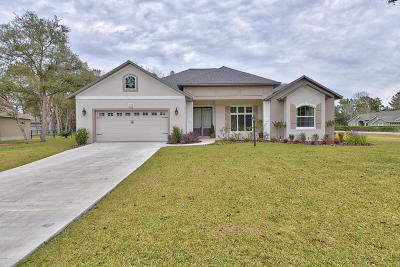 Ocala Single Family Home For Sale: 5105 SW 114th Street Road