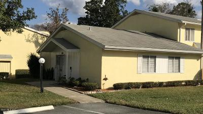 Ocala Condo/Townhouse For Sale: 547 Fairways Drive #A