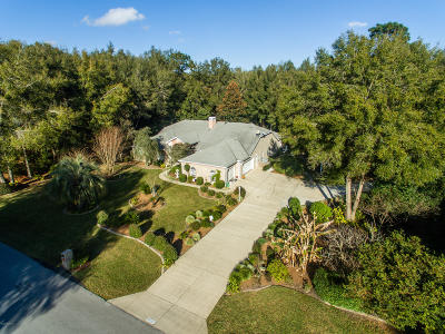 Dunnellon Single Family Home For Sale: 19091 SW 98th Loop