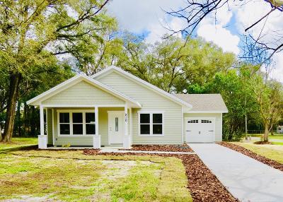 Williston Single Family Home For Sale: 210 SE 5th Avenue