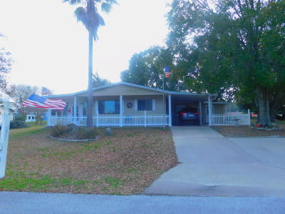 Ocala Single Family Home For Sale: 10317 SW 87th. Terrace