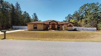 Ocala Waterway Single Family Home For Sale: 4580 SW 113 Place