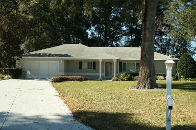 Dunnellon Single Family Home For Sale: 14609 SW 112th Circle