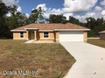 Marion Oaks North, Marion Oaks South, Marion Oaks Rnc Single Family Home For Sale: 4465 SW 170th Street Road