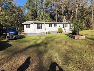 Citra Single Family Home For Sale: 3259 NE 161st Street