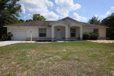 Marion Oaks North, Marion Oaks South, Marion Oaks Rnc Single Family Home For Sale: 14544 SW 45th Circle