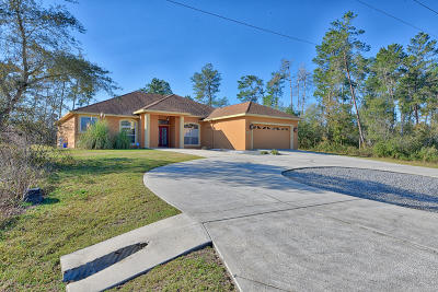 Ocala Waterway Single Family Home For Sale: 4430 SW 103rd Street Road