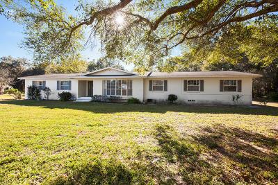 Ocala Single Family Home For Sale: 5910 SW 7th Avenue Road