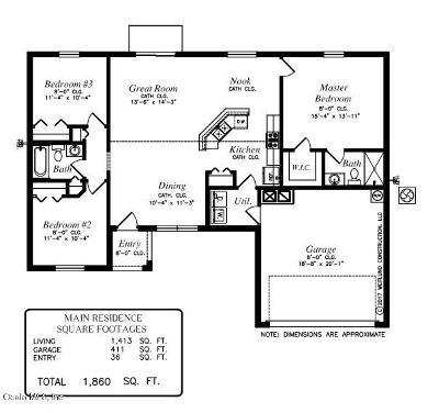 Single Family Home For Sale: 49 Pine Course