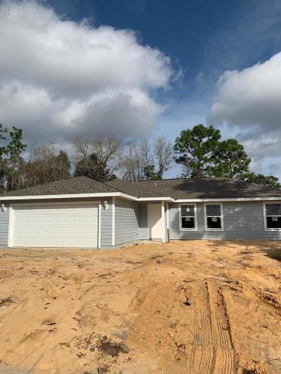 Ocala Single Family Home For Sale: 3 Fir Trail Pass